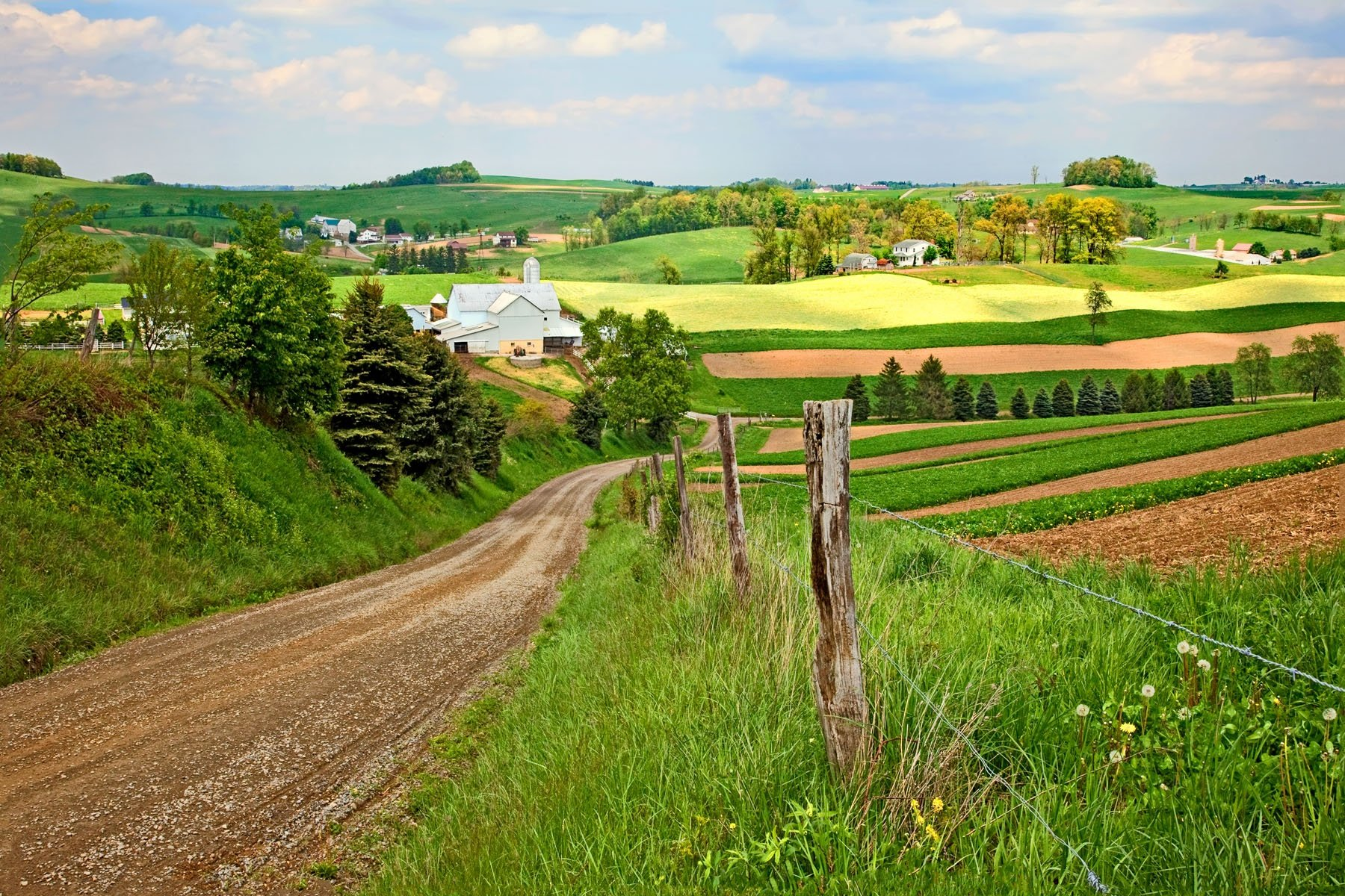 VALLEY VIEW - What a beautiful country we live in. This photo was taken in Holmes County in central Ohio.