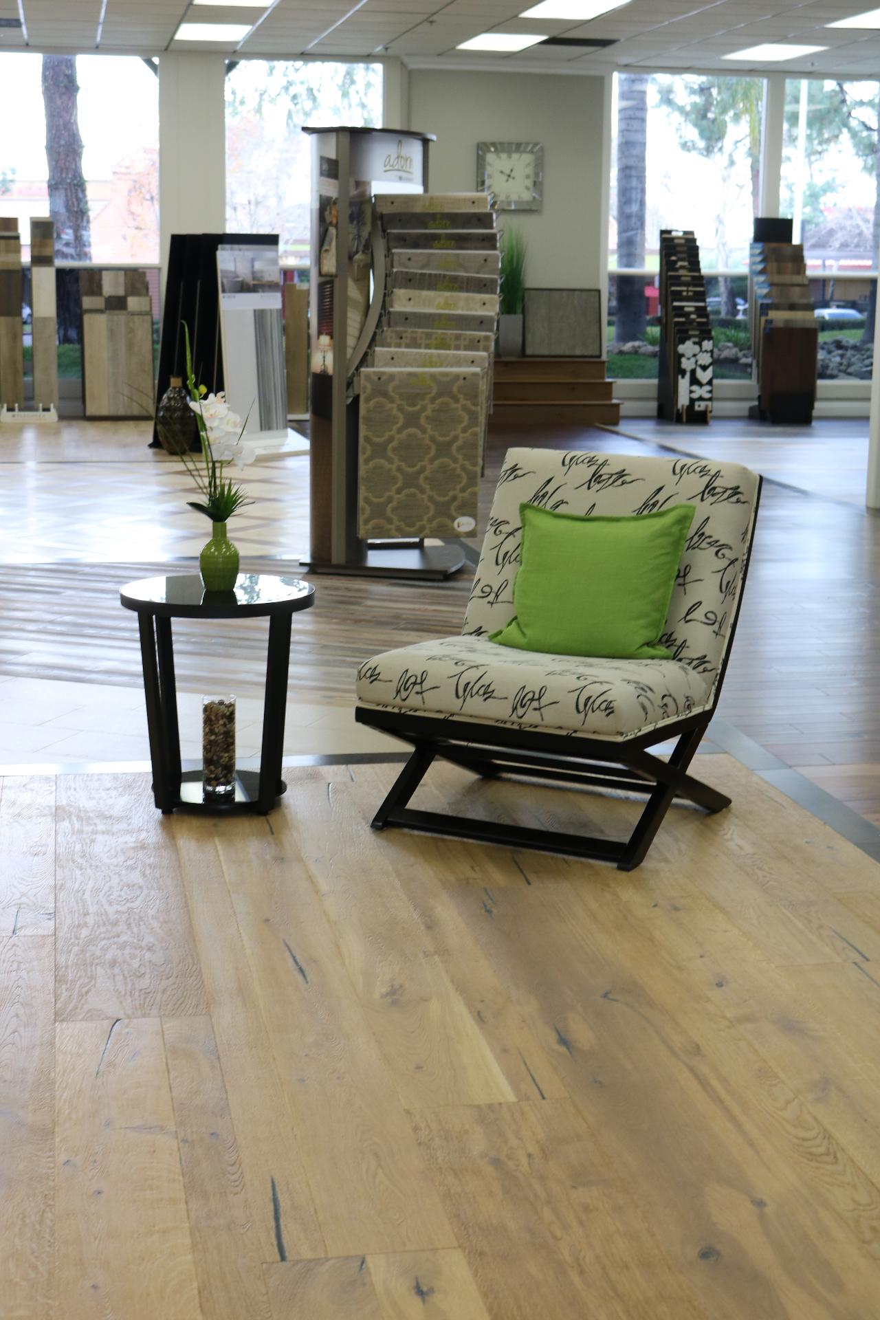 Kindred Flooring Showroom  Display of Urban Floor  Composer Bach