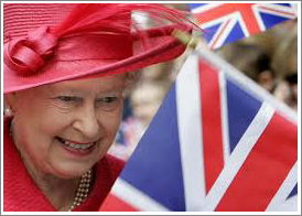 The Queen of England||||Queen Elizabeth II
