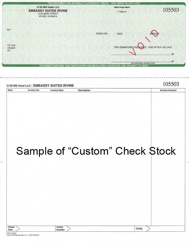 Checks Athens | Check Envelopes Watkinsville | Larkins Printing