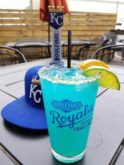 Royals Blue Margarita!