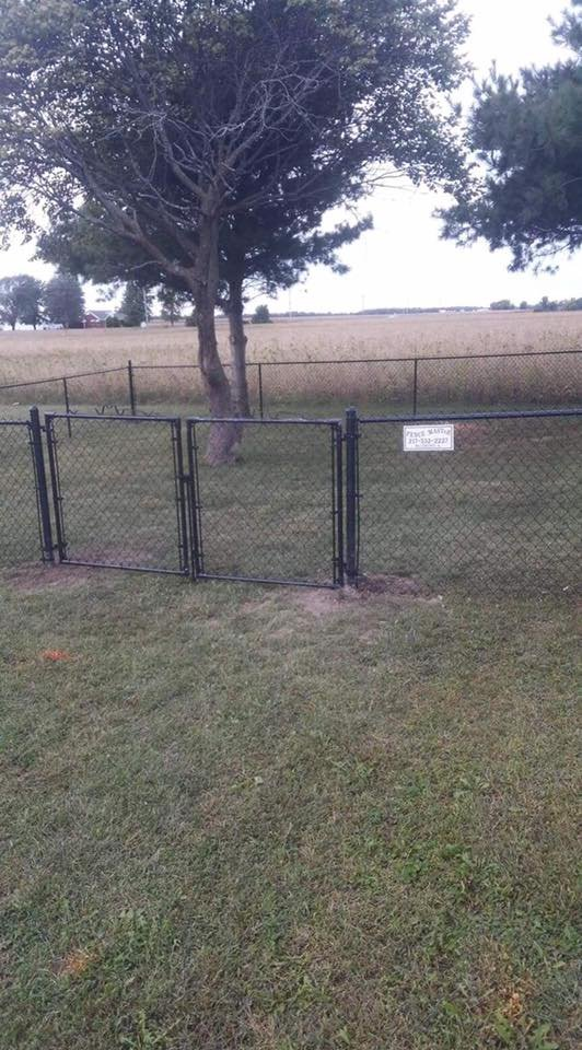 Chain Link Fence With Gate