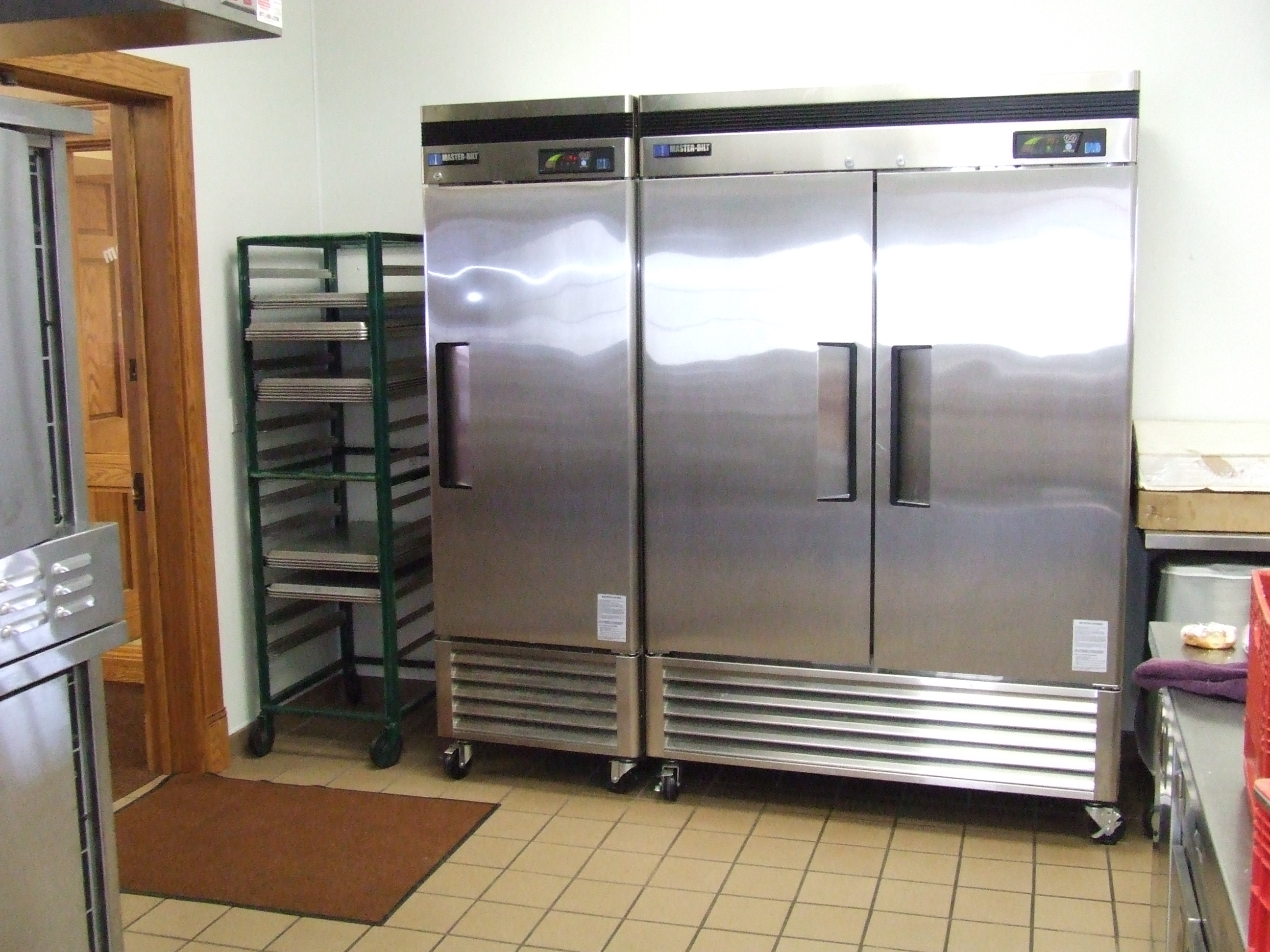 Kitchen -refrigerator area