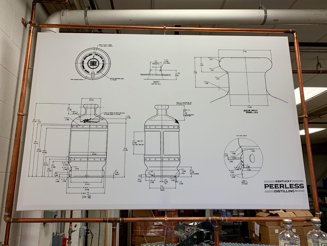 Kentucky Peerless Distilling - Bottle Design