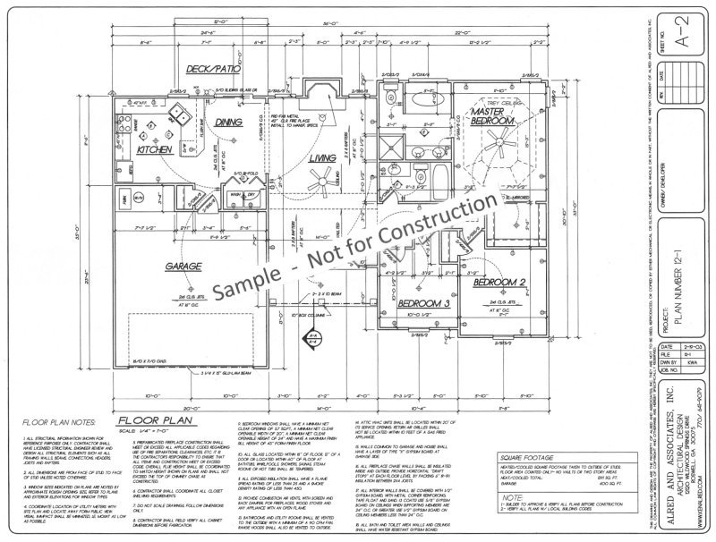 Floor Plan with Electrical