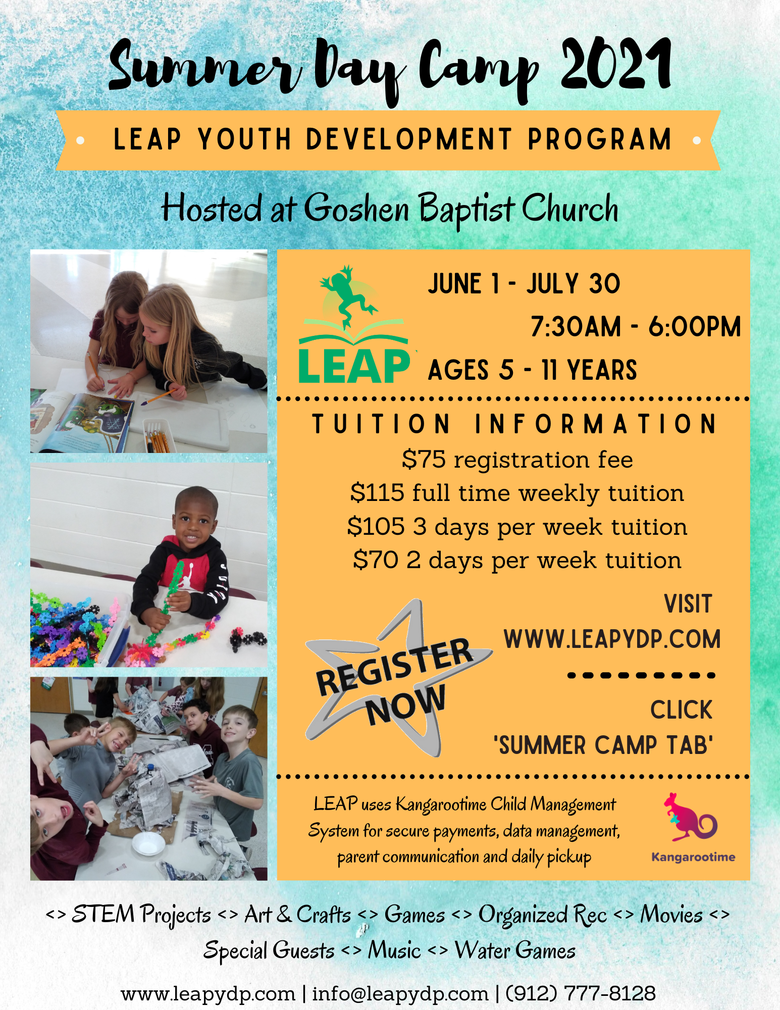 LEAP Summer Camp 2021