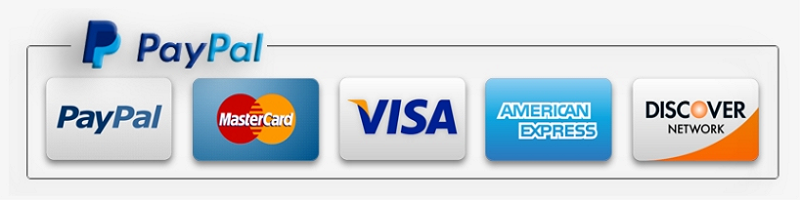 Tarot readings payment secured by PayPal.