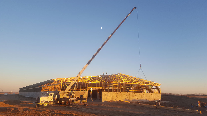 Crane-Setting-Mono-Truss