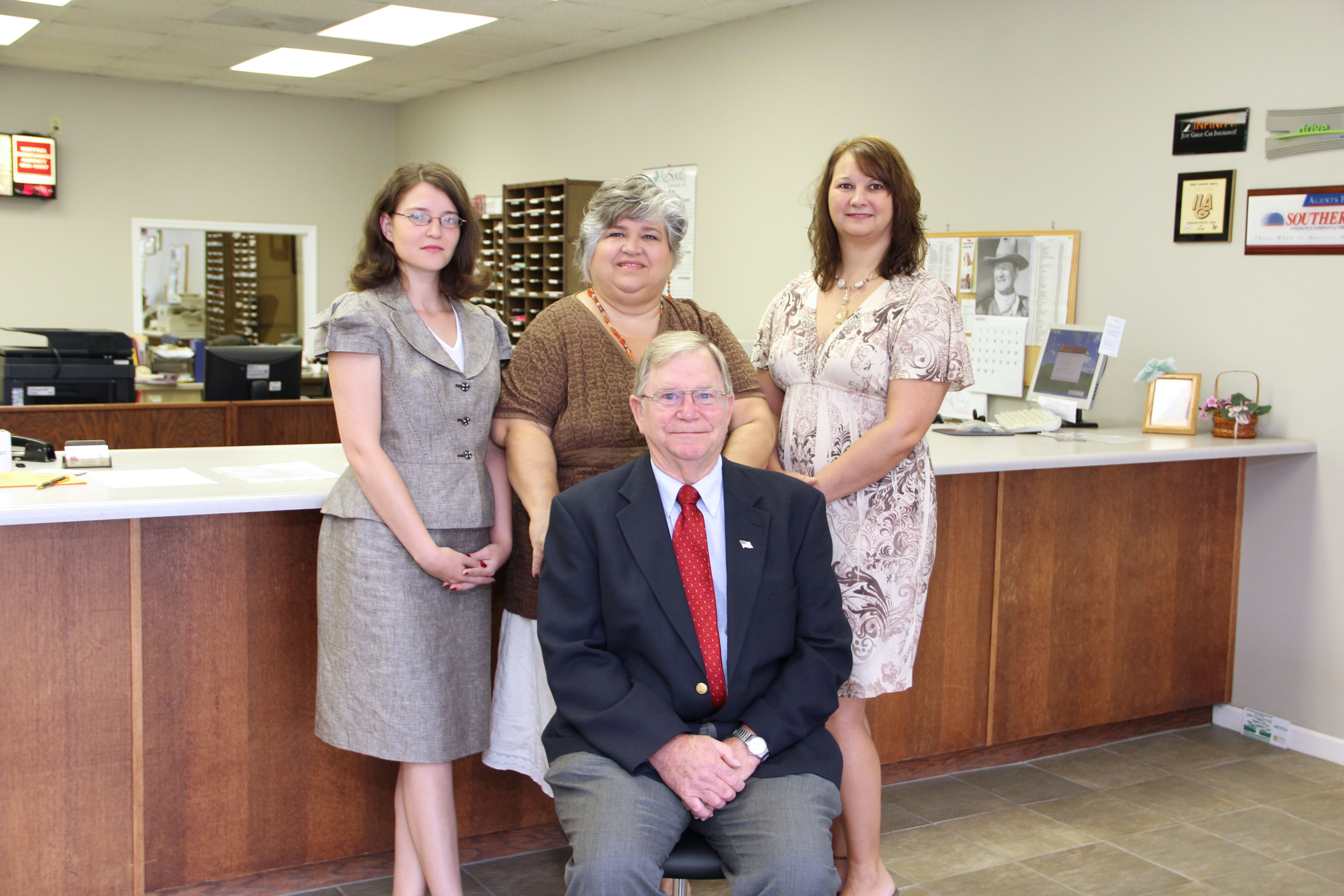 The team at Metter Insurance Agency||||