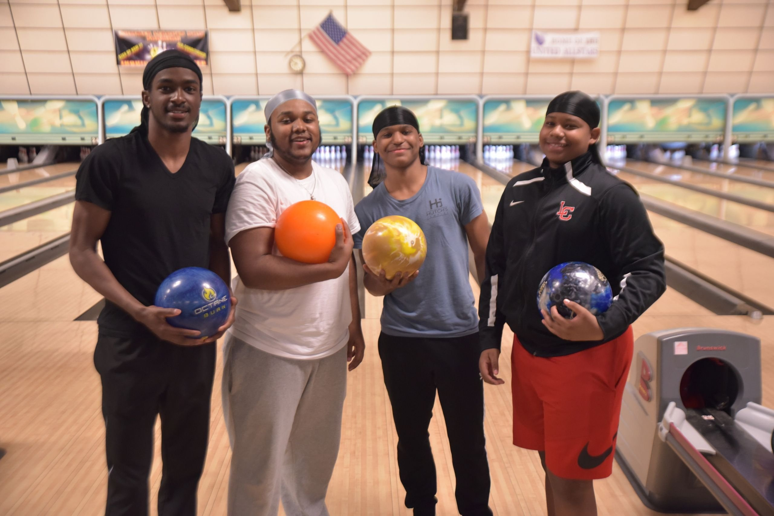 Group of Bowlers