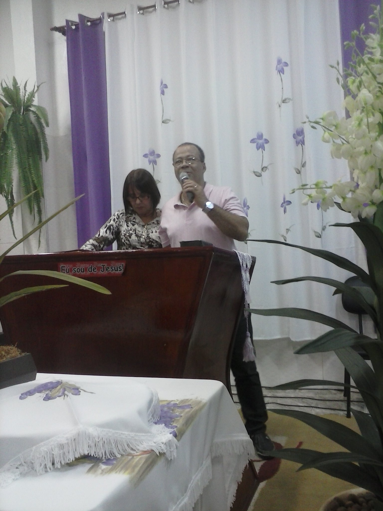 Testemunho em Valinhos/SP - Igreja Batista