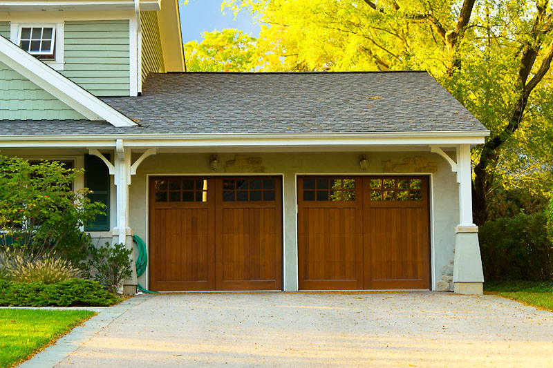 Two garage doors||||
