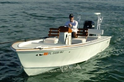 Flats For Fun - 20ft Wily Roberts Flats Boat
