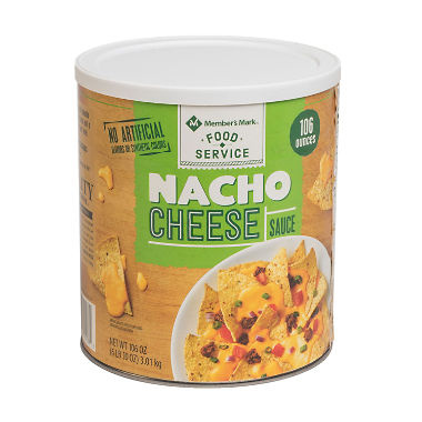 Nacho Cheese 106oz $12.99/can