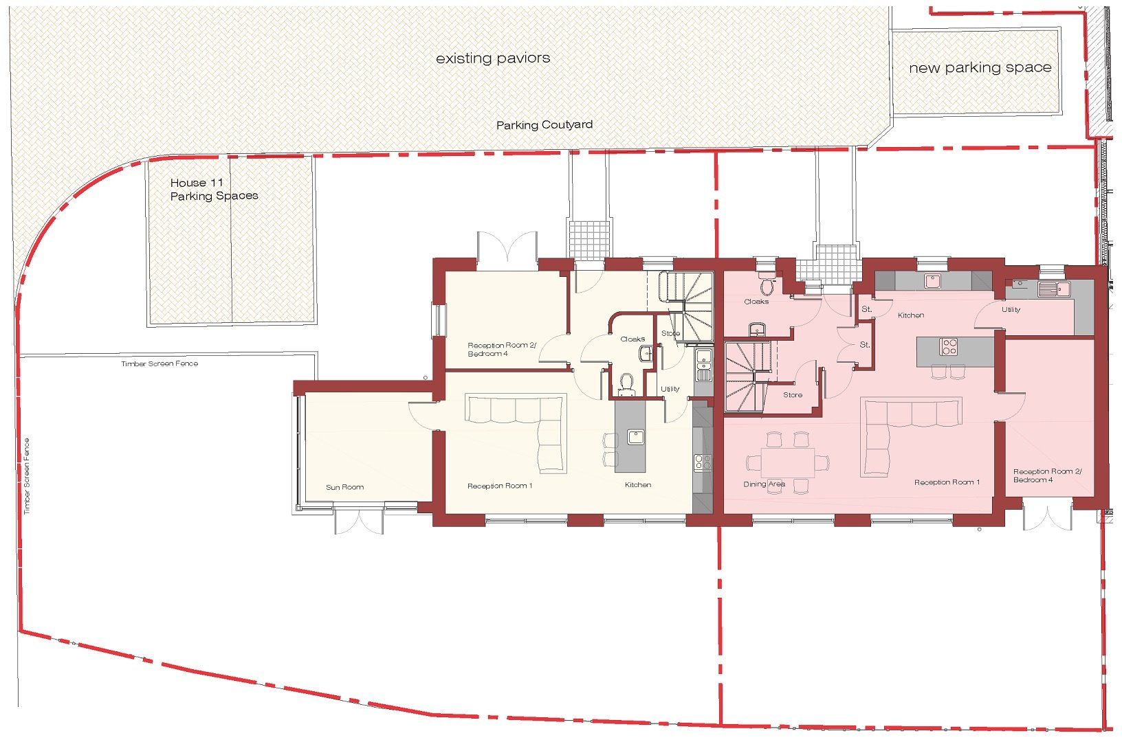 Floor Plans of New Build Houses
