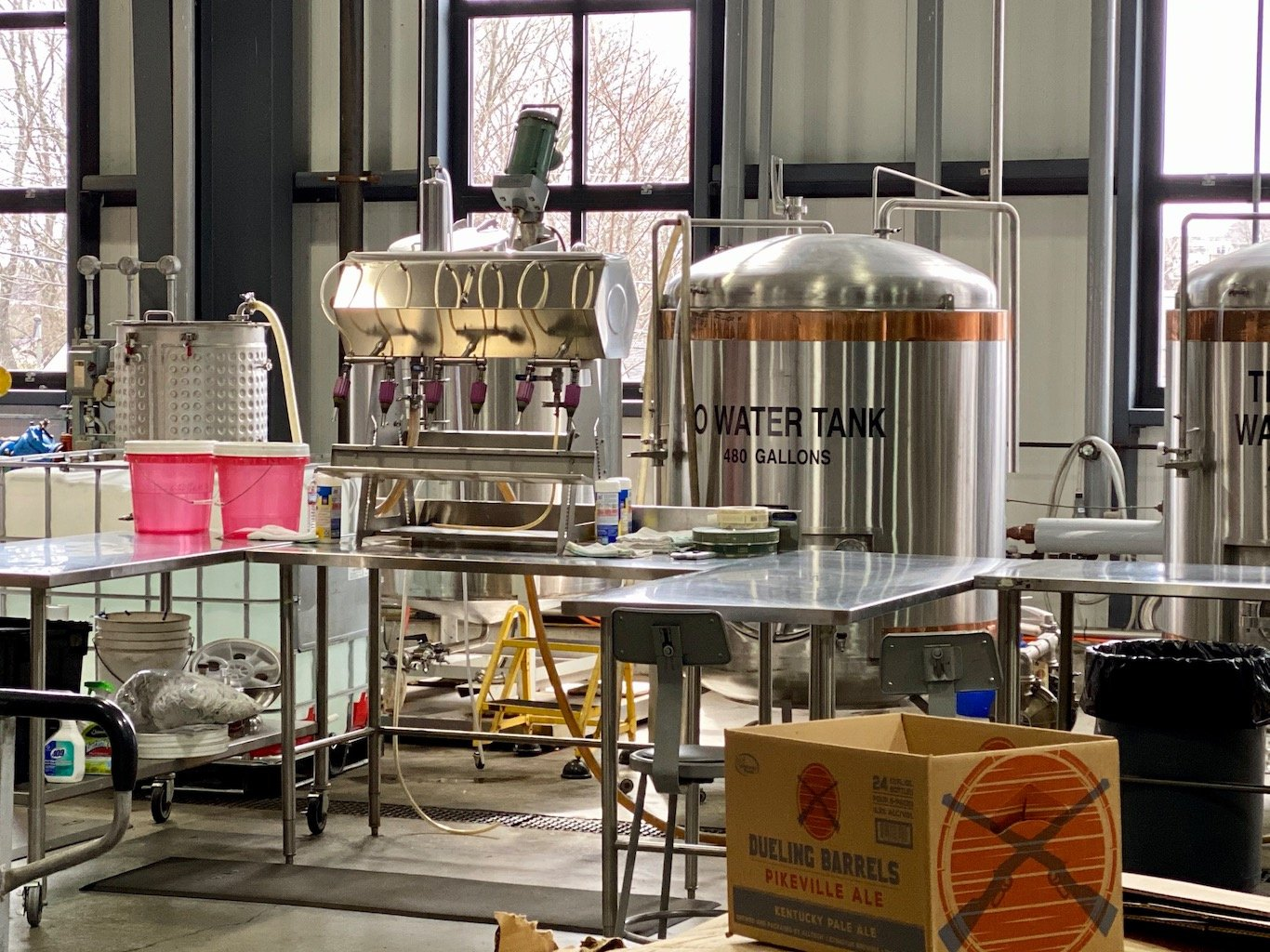 Bottling Line -Lexington Brewing & Distilling Co (Town Branch Distillery)