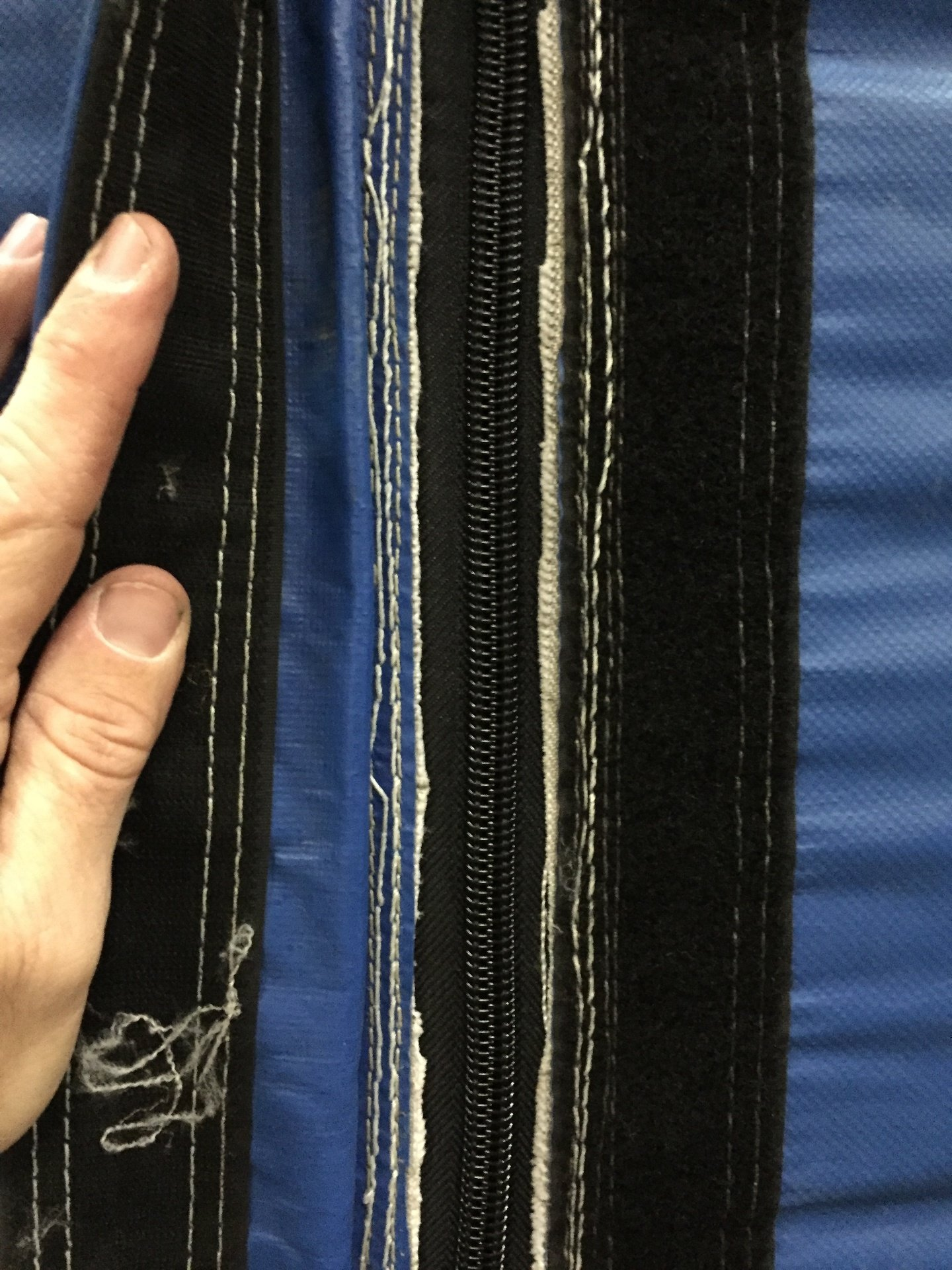 Zipper Replacement - After