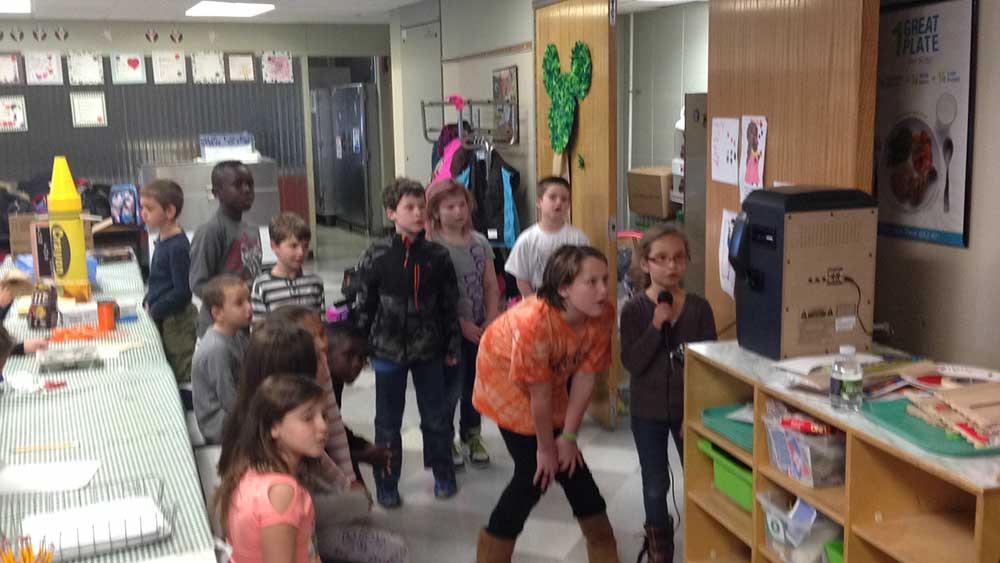 Kids' Classroom Activity