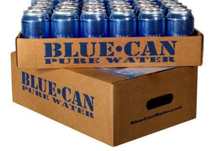 Blue Can Box