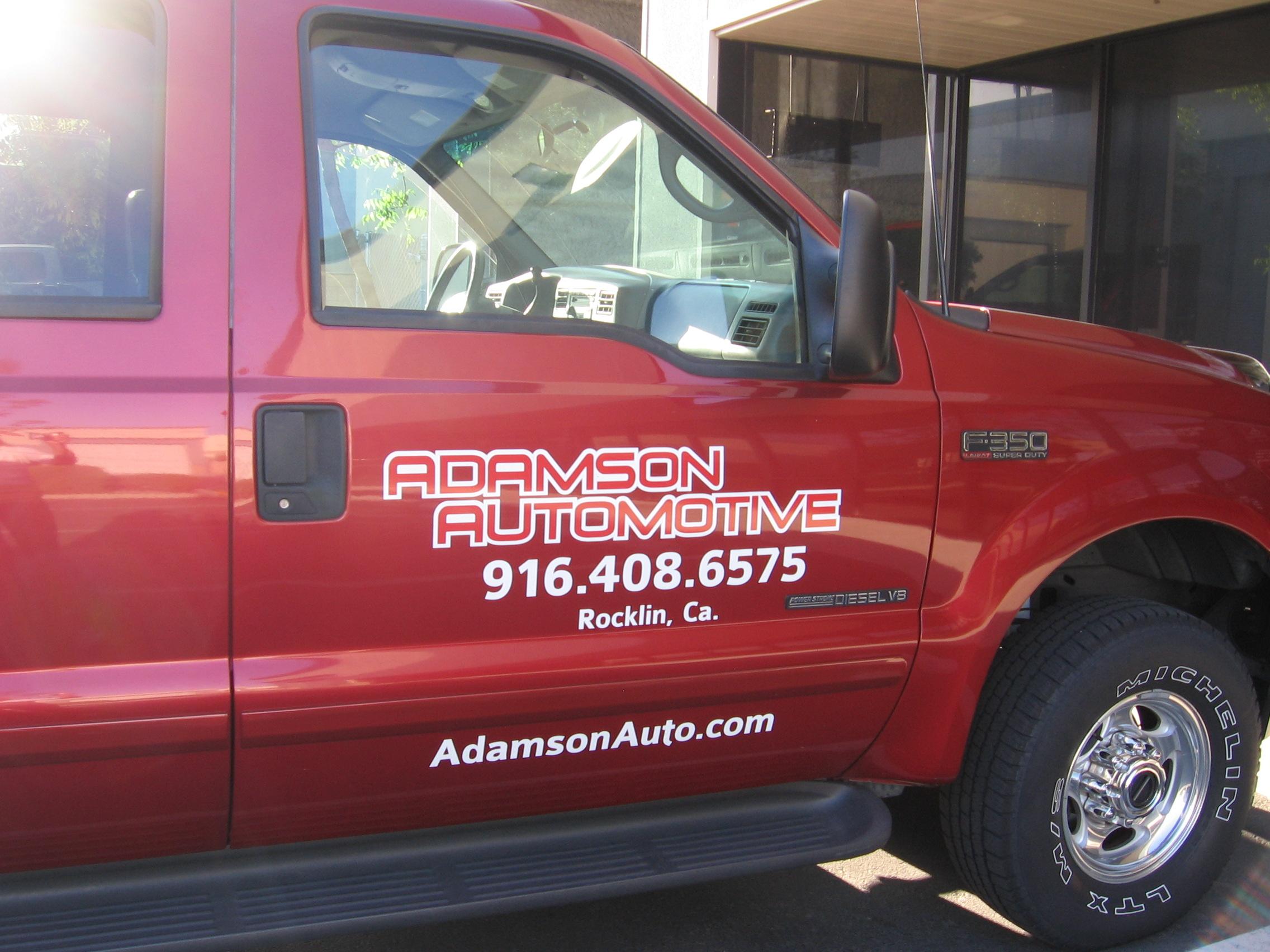 Adamson Automotive Truck||||