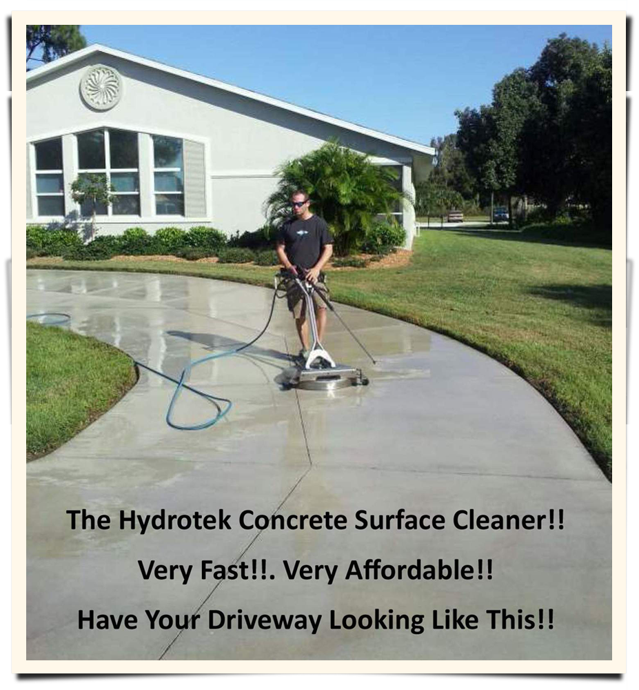 Advanced pressure cleaning solutions llc in englewood fl for Concrete surface cleaner