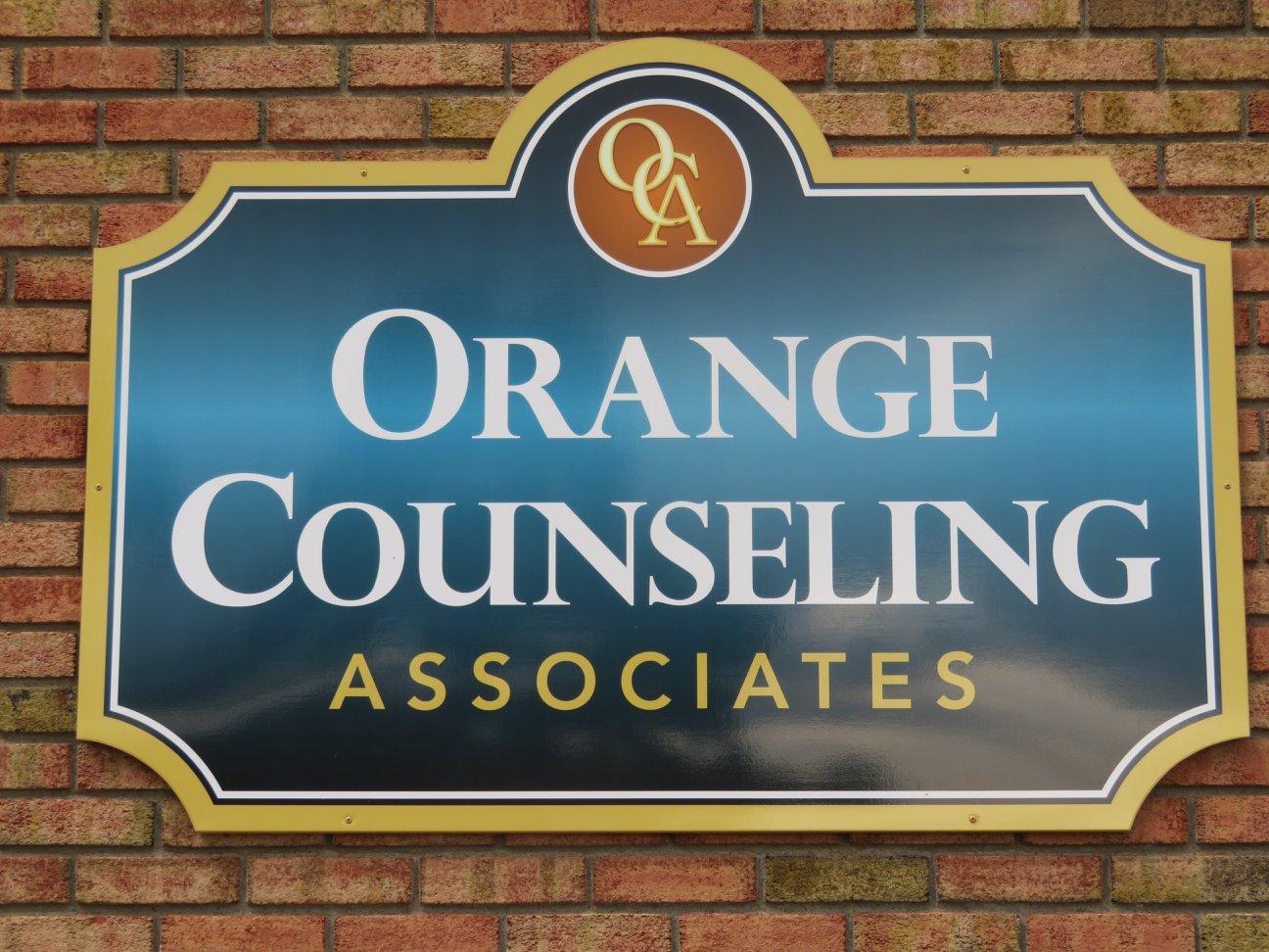 Orange Counseling Signage