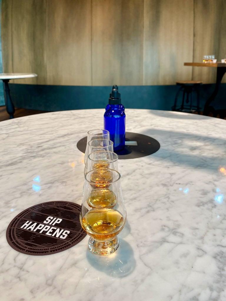 Connoisseur Experience - Fitzgerald Tasting Room - Heaven Hill Distillery Bourbon Heritage Center