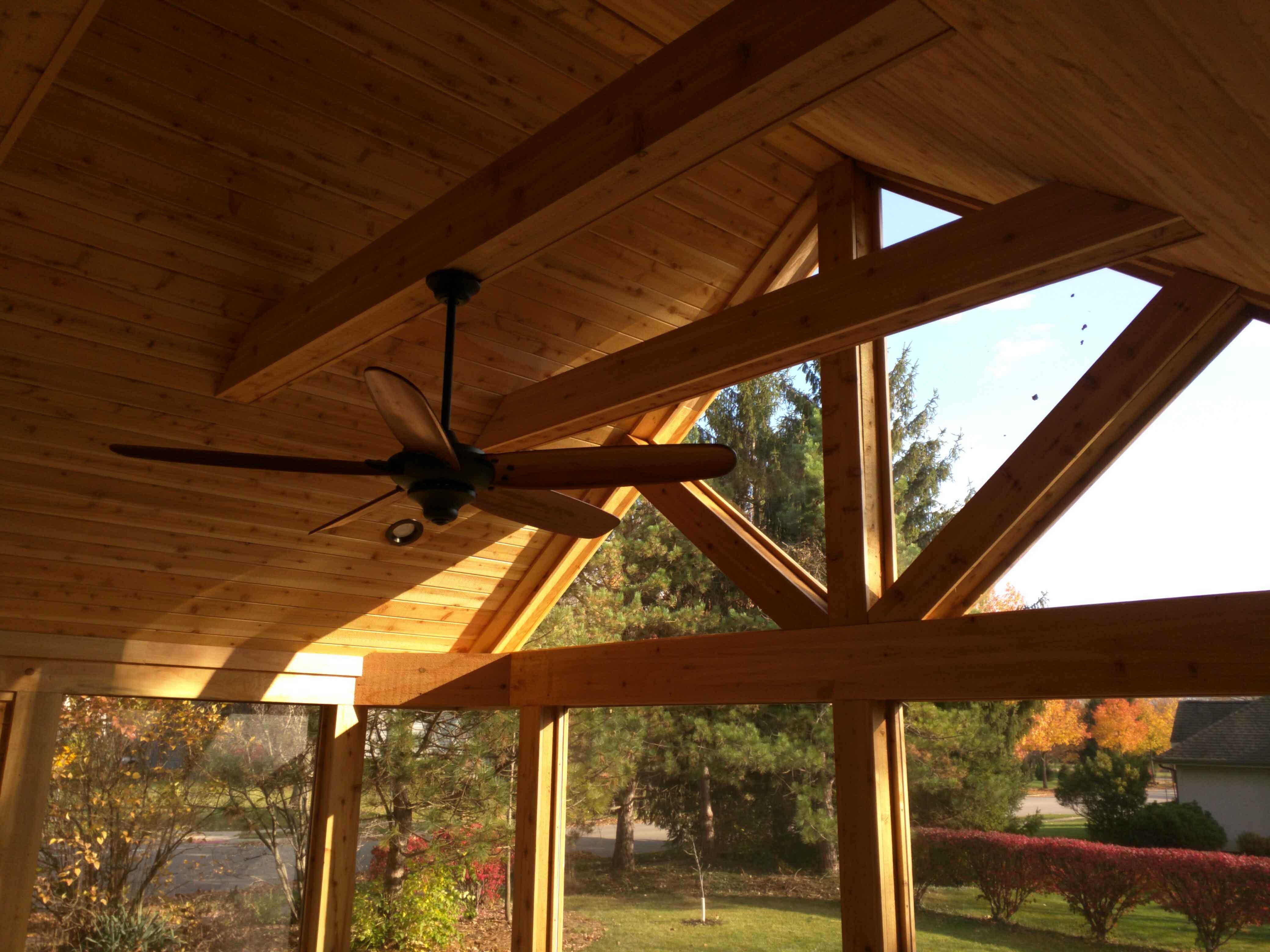 Wooden Deck Ceiling