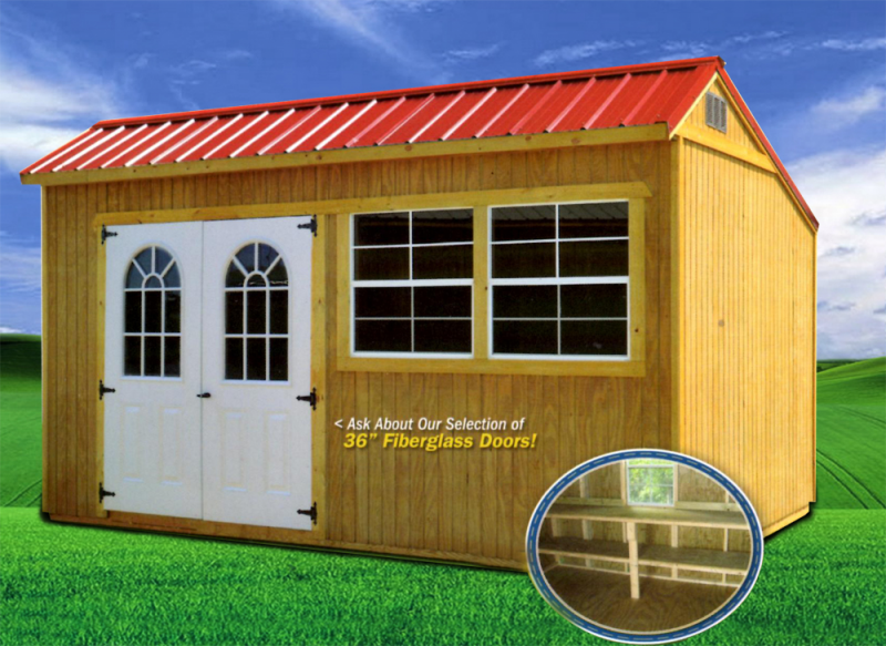 Rent to own Portable Storage Buildings in Georgia and surrounding areas
