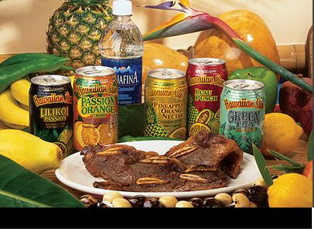 Hawaiian sun soft drink cans    