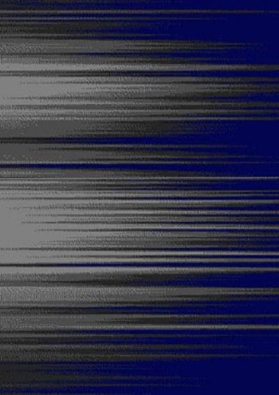 Brush Shadow Blue Deluxe Shag 5x7