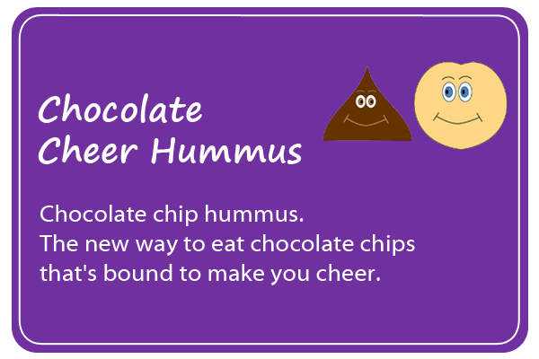 Chocolate Cheer Hummus