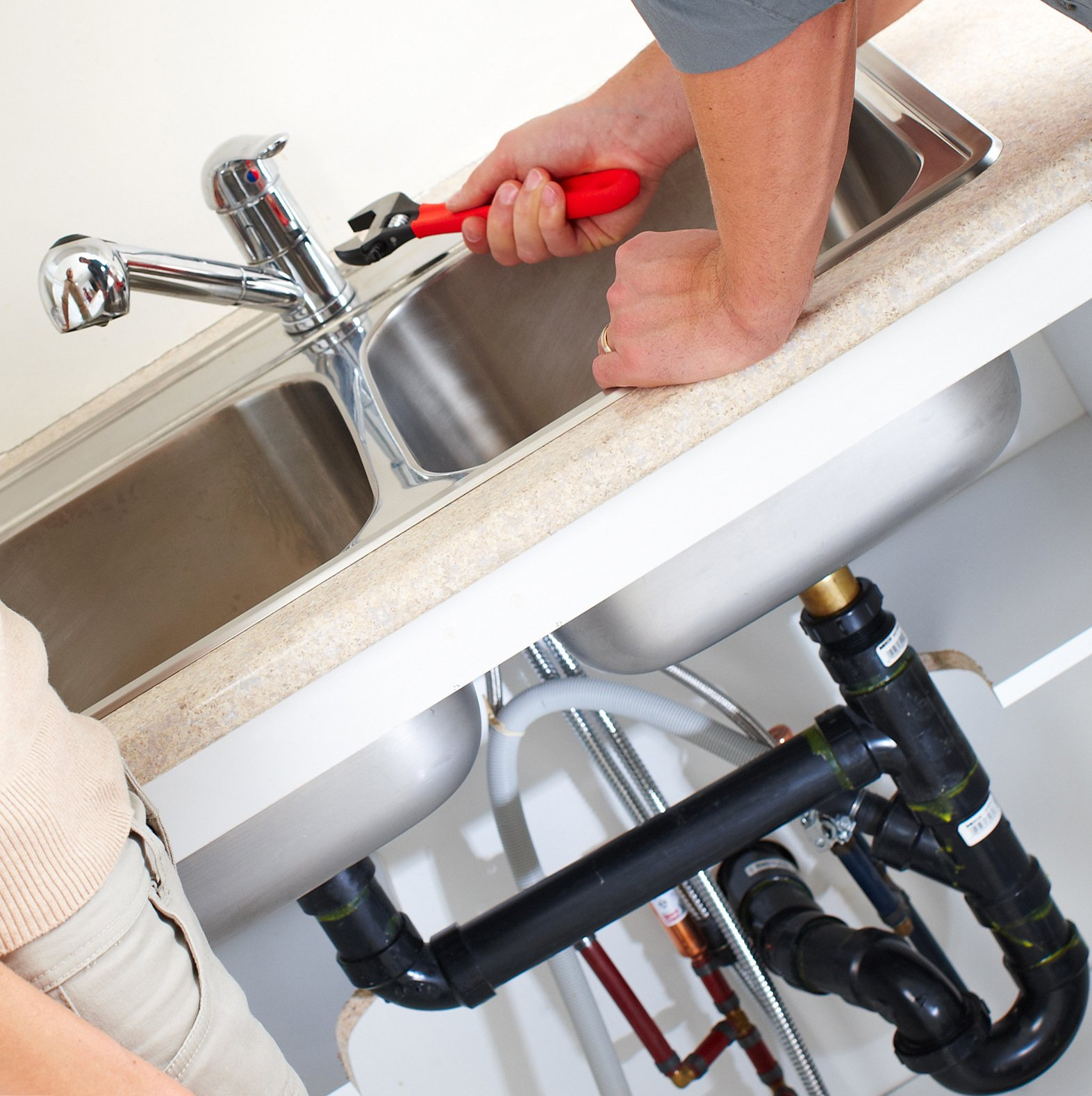 Fixing sink clogging||||