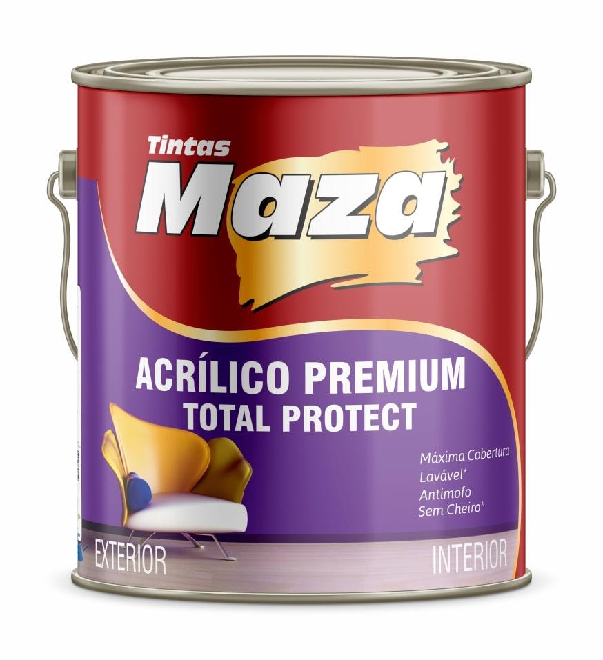 ACRÍLICO PREMIUM TOTAL PROTECT FOSCO/ACETINADO/SEMI BRILHO