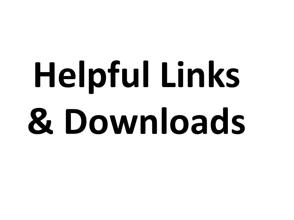 Helpful Links & Downloads