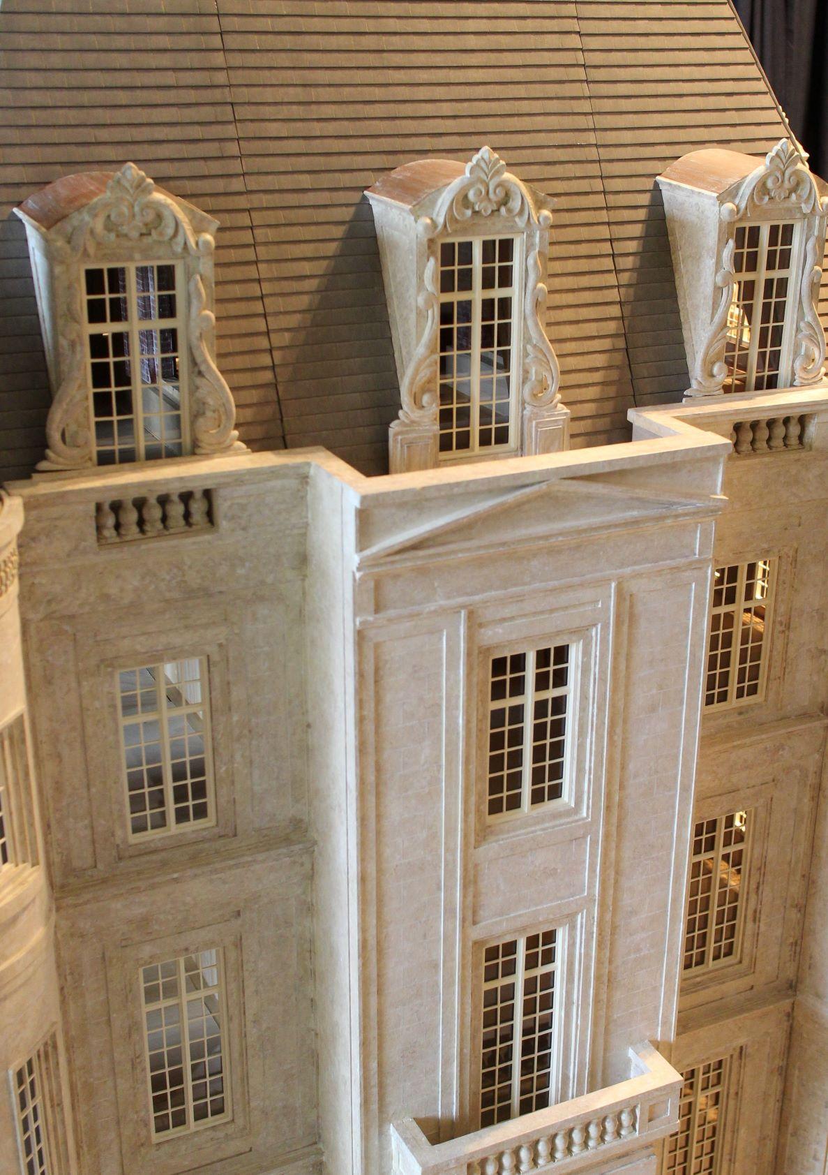 Pediment & Balconies