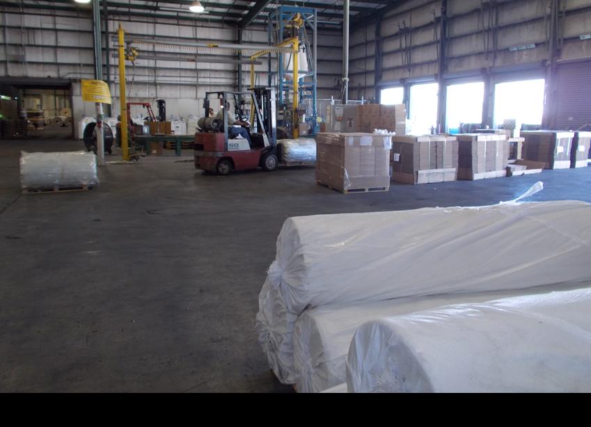Inside warehouse||||