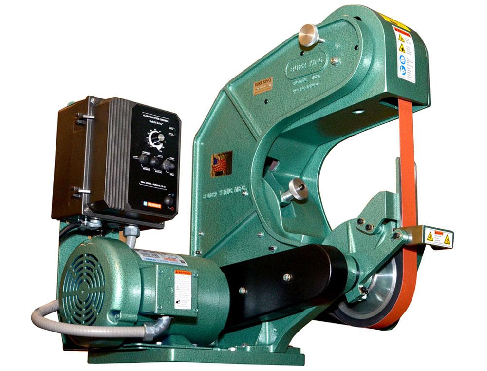 Model 760 1.5 x 60 or 2 x 60 Three Wheel Belt Grinder