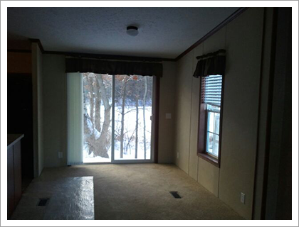 Interior with sliding doors||||