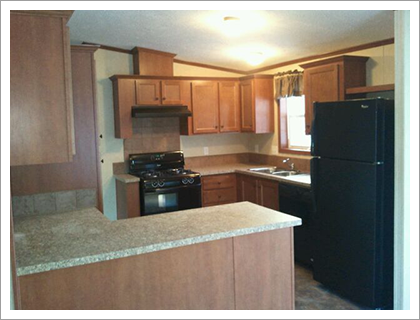 Kitchen area with appliances||||
