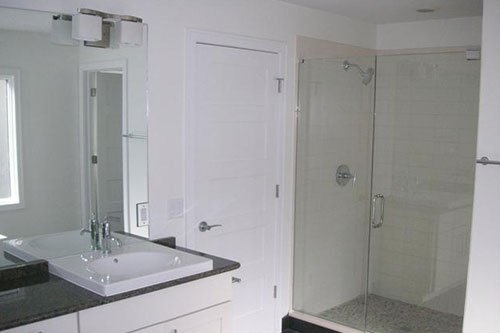 Separate Showerin MBR Bath