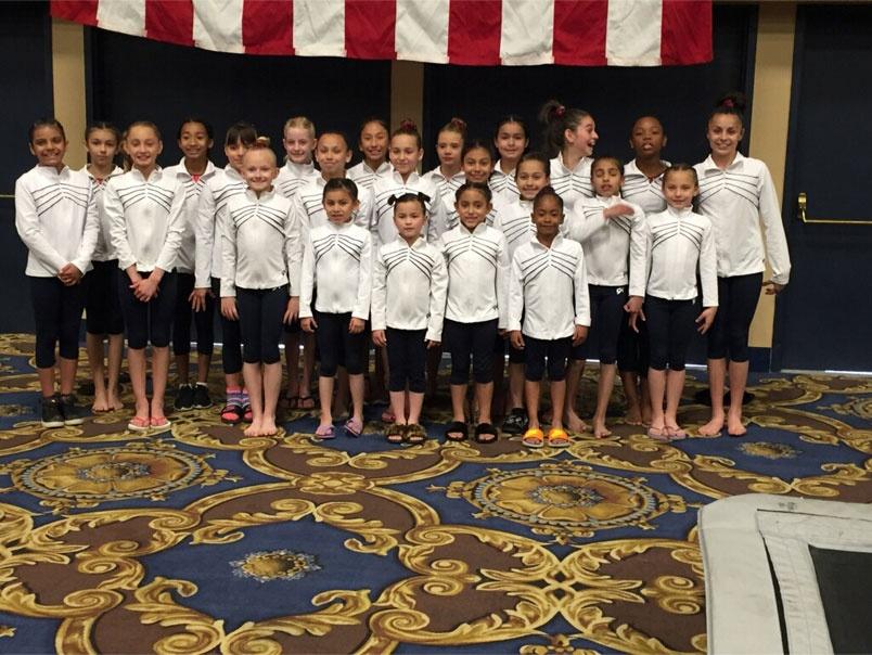 Team of Gymnasts