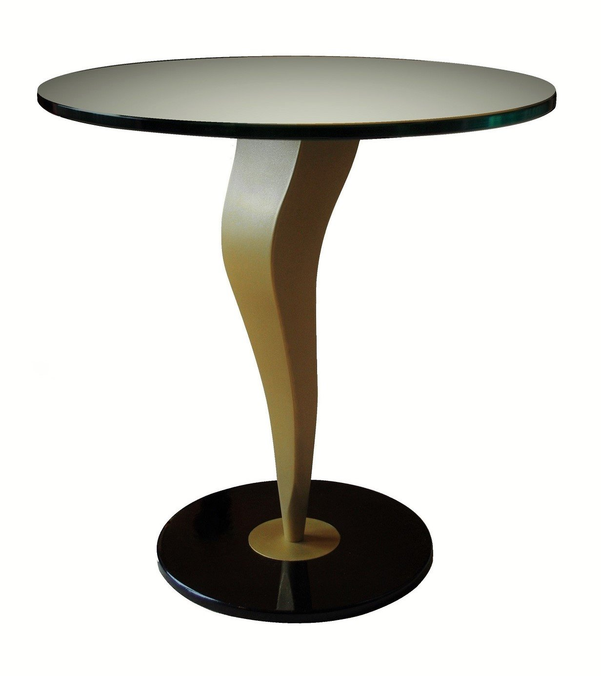 Thermal metal finishes. Inspiration side table - brass AM.4