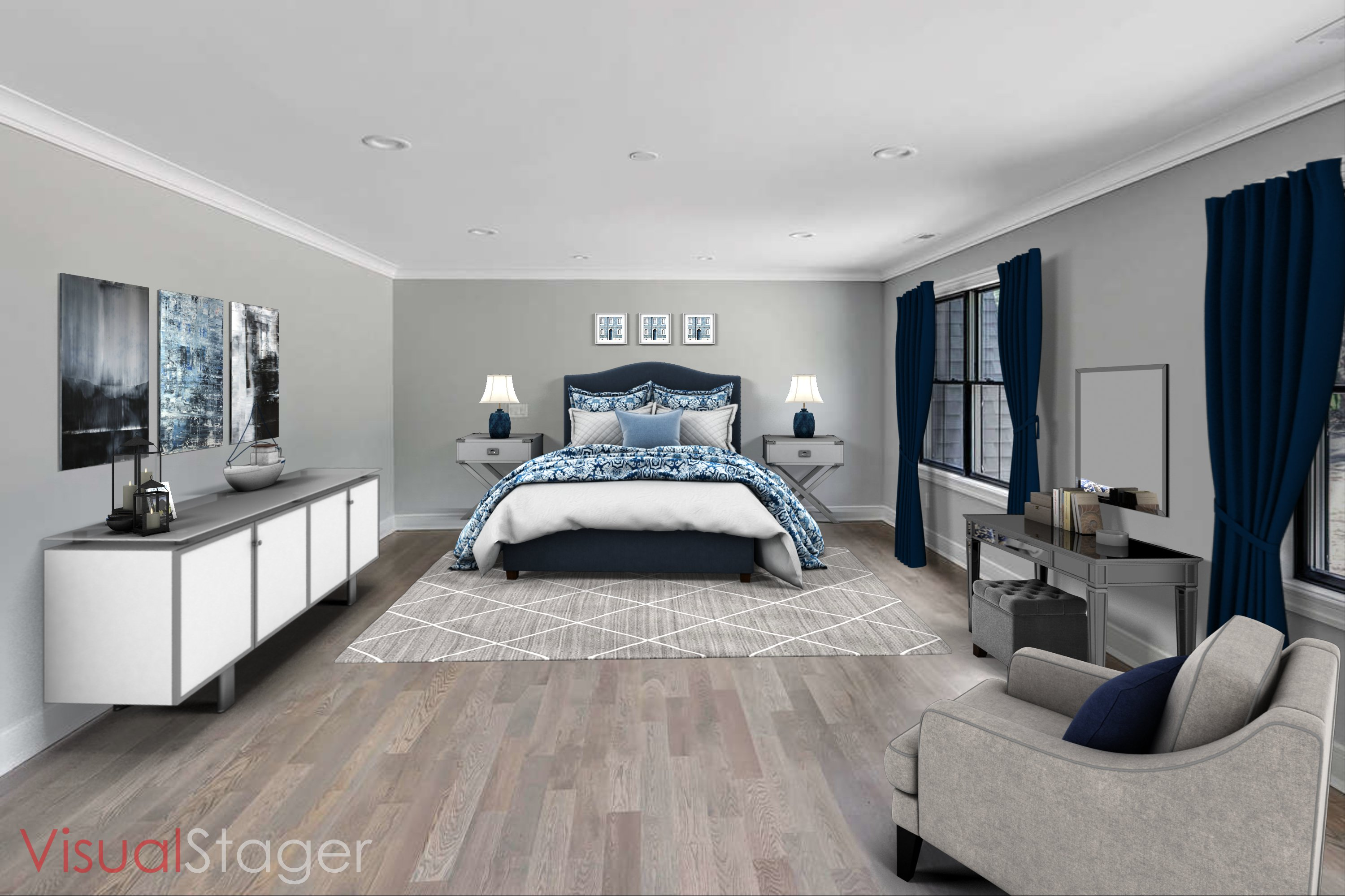 Bedroom - Virtual Staging After
