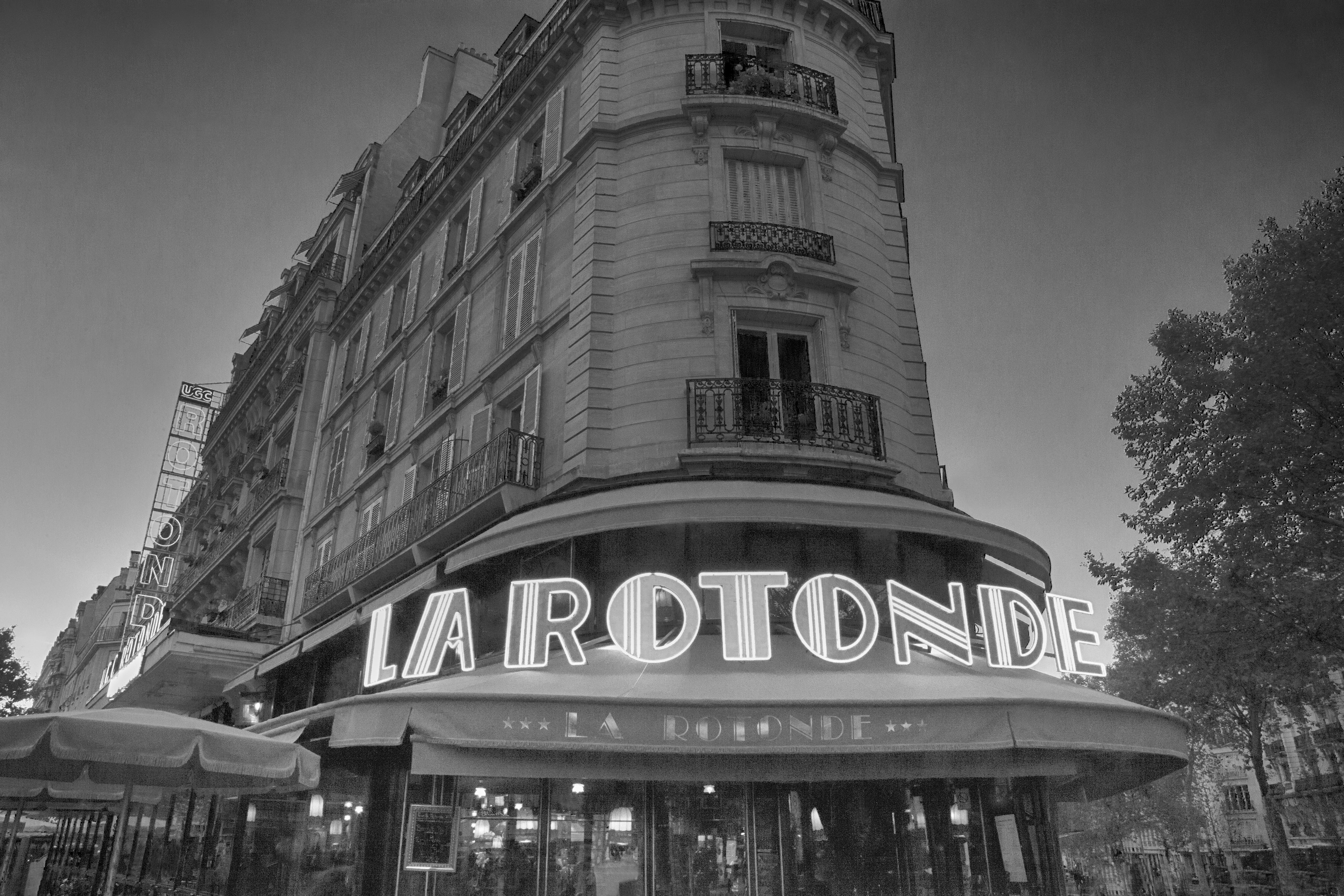 Paris La Rotonde Cafe