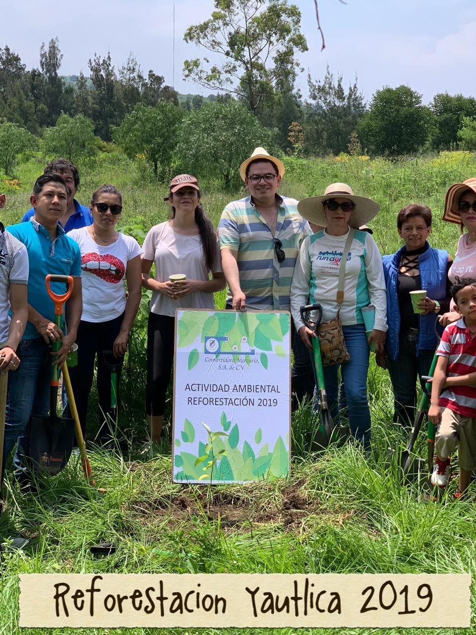 Evento reforestacion yautica 2019