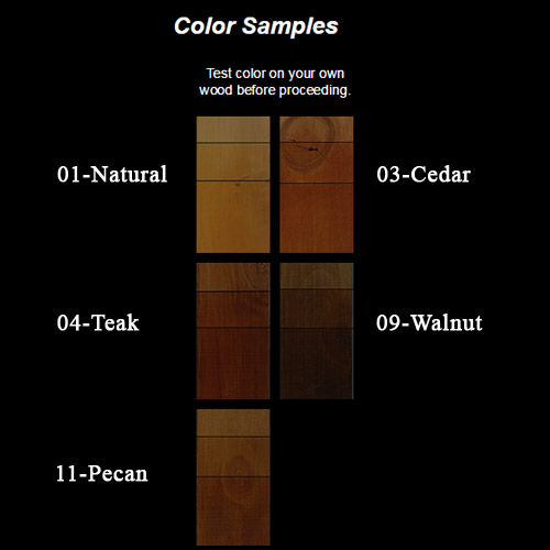 Nature One Color Samples
