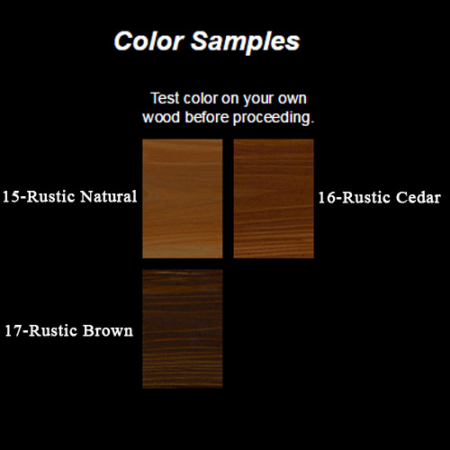 Nature Blend Color Samples