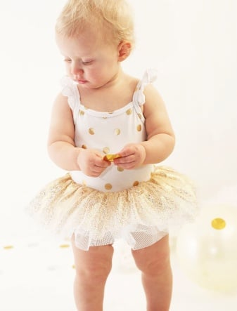Polka Dots Outfit For Babies