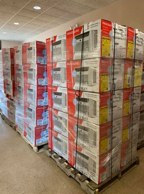 Service providers have been out installing window air conditioners, finishing the week with 75 installs so far this summer! Please be patient as we catch up and return calls as quickly as we are able. Elderly and chronically ill St Louis residents can call 314-773-5900 if they are without air conditioning.